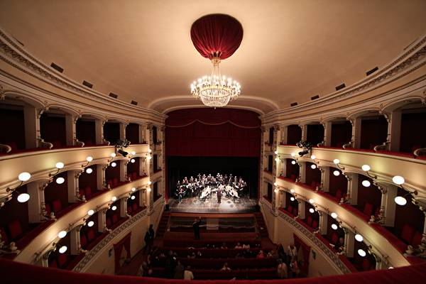 Teatro degli Industri - Interno