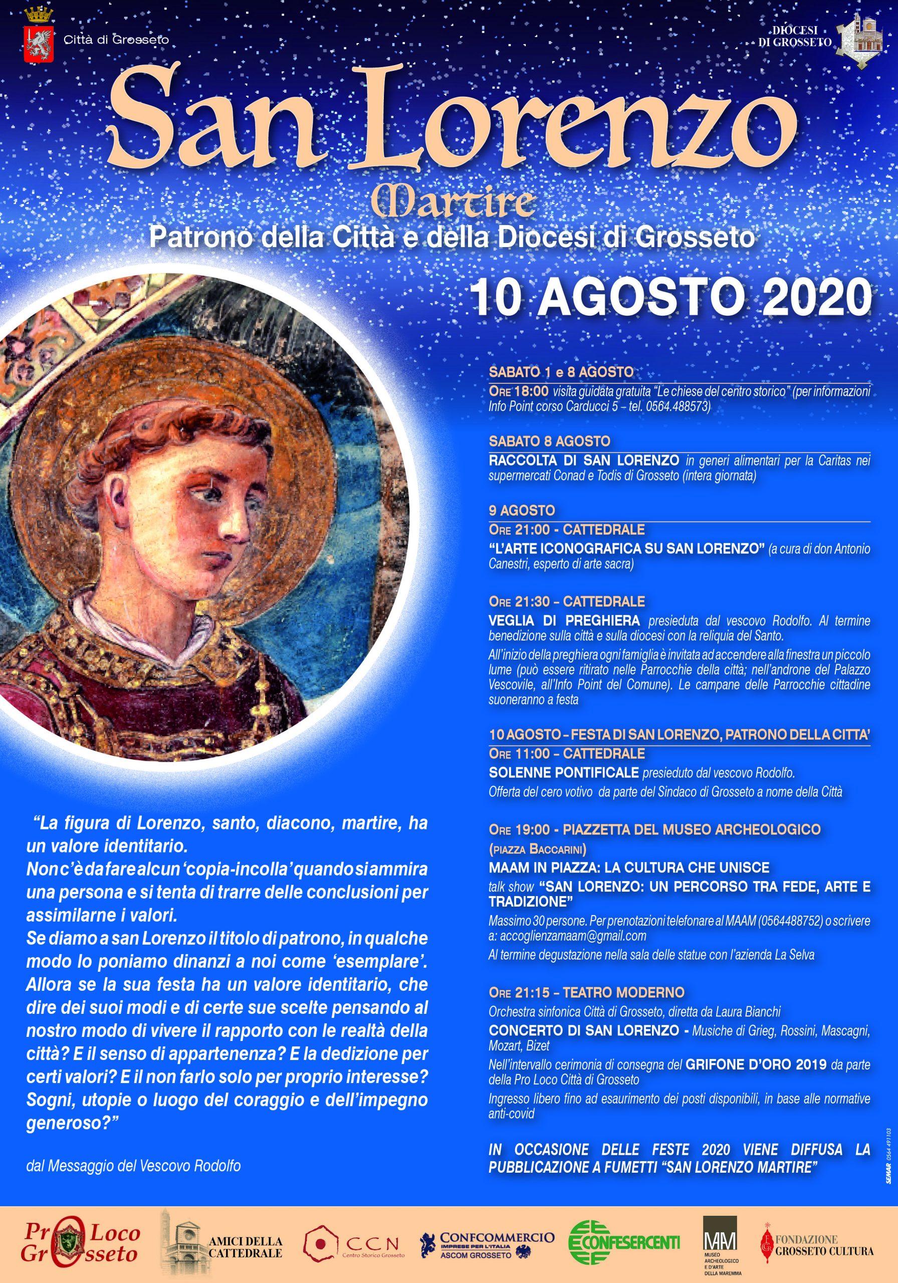 Locandina San Lorenzo 2020